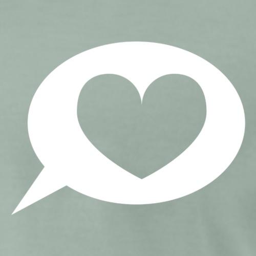 Logopädenherz - Männer Premium T-Shirt