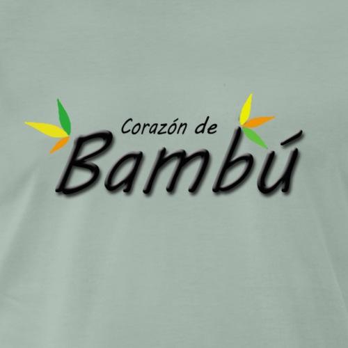 Corazón de bambú - Camiseta premium hombre