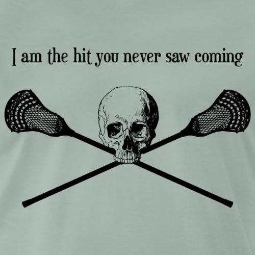 Cooles Lacrosse Shirt! - Männer Premium T-Shirt