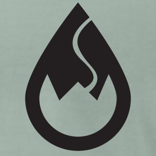 WSC Wicked Sick Crew Tropfen-Logo schwarz - Männer Premium T-Shirt