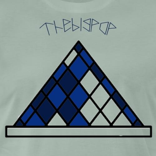 TheBigPop Piramide - Camiseta premium hombre