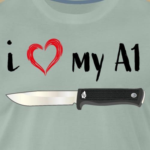I Love My A1 - Männer Premium T-Shirt