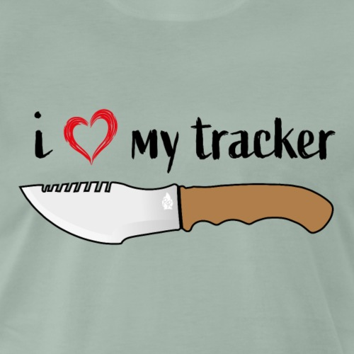 I Love My Tracker - Männer Premium T-Shirt