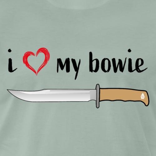 I Love My Bowie - Männer Premium T-Shirt
