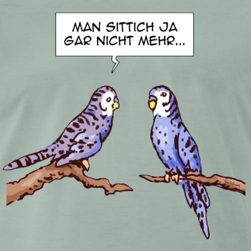 Sittich - Männer Premium T-Shirt