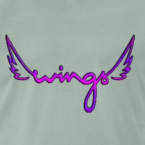 Wings - Camiseta premium hombre