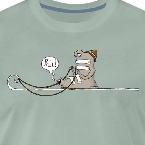 Hü - Männer Premium T-Shirt