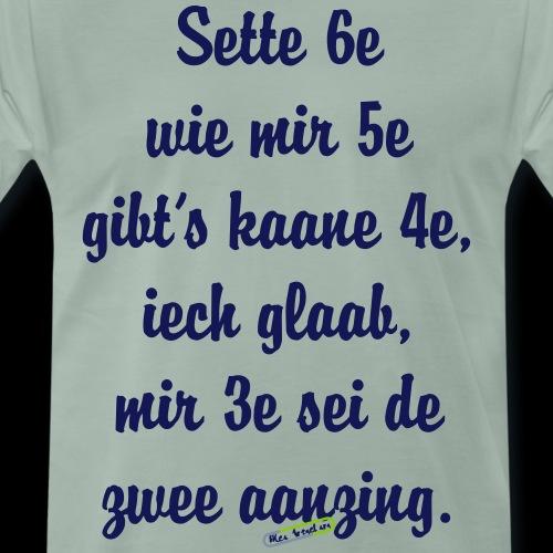 sette sechse - Männer Premium T-Shirt
