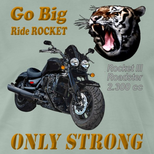 Go Big – ride Rocket - Rocket III Roadster X - Männer Premium T-Shirt