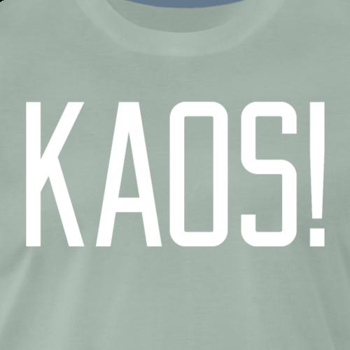 KAOS WHITE - Premium T-skjorte for menn