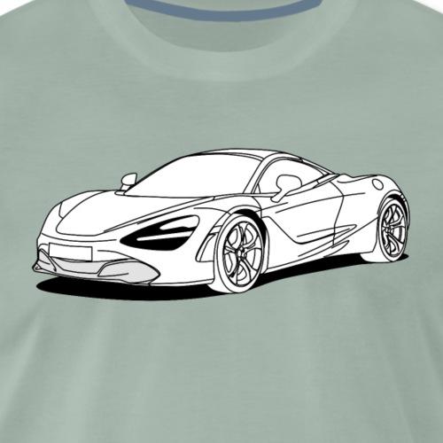 720s Coupe White - Men's Premium T-Shirt