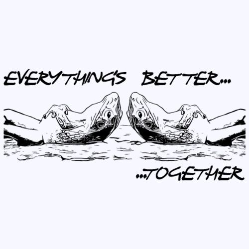 Better 2gether - Männer Premium T-Shirt