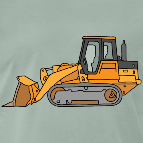 Bulldozer Laderaupe - Männer Premium T-Shirt