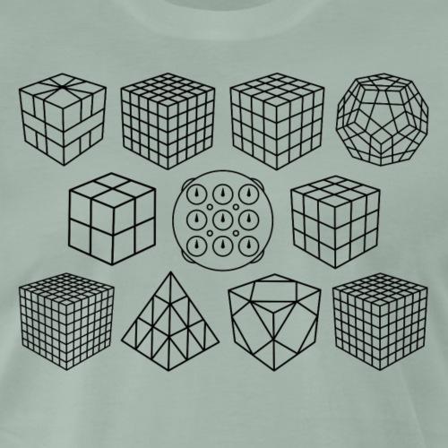 PuzzlesBlack - Men's Premium T-Shirt