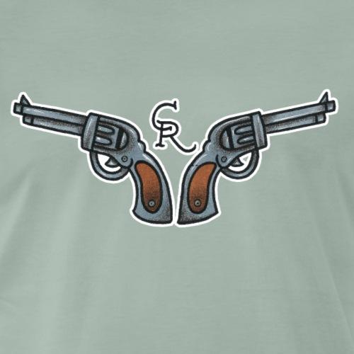 Pistolen - Männer Premium T-Shirt