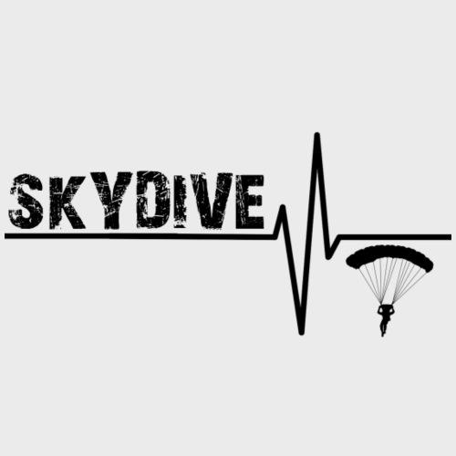 Skydive Pulse - Männer Premium T-Shirt