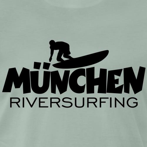 München Riversurfing - Männer Premium T-Shirt