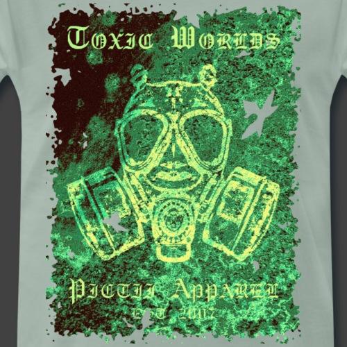 TOXIC WORLDS - 3E - Men's Premium T-Shirt
