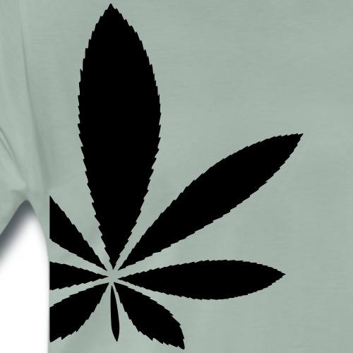 Hanf (Cannabis) Marihuana im Anschnitt - Männer Premium T-Shirt