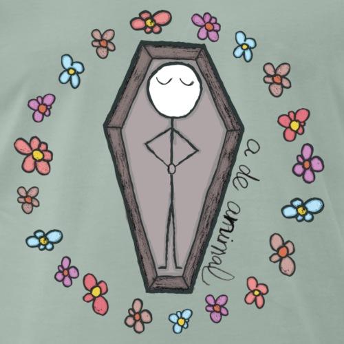 Con flores a María - Camiseta premium hombre