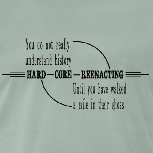 hard core png - Men's Premium T-Shirt