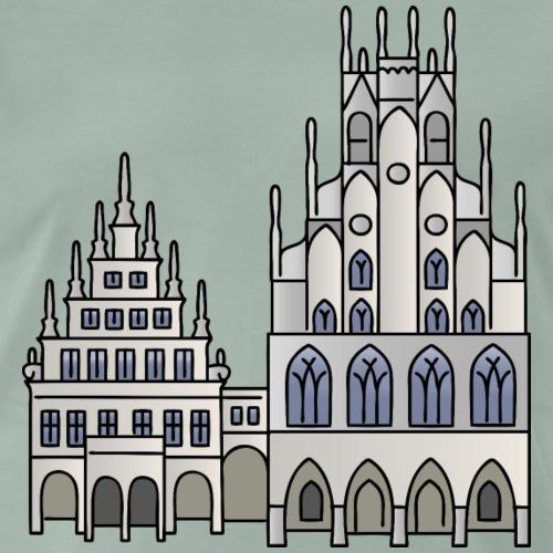 Municipio di Münster - Maglietta Premium da uomo