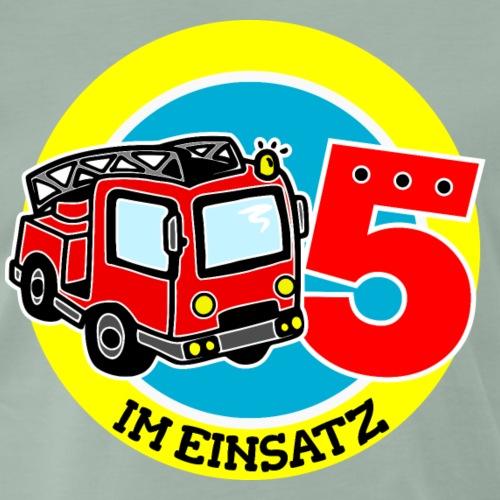5. Geburtstag Feuerwehr im Einsatz - Männer Premium T-Shirt
