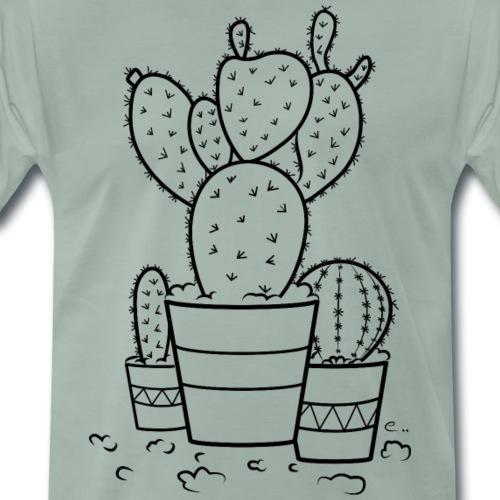 Cactus bien piquants - T-shirt Premium Homme