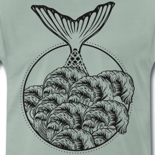 Schwanzflosse einer Meerjungfrau - Männer Premium T-Shirt