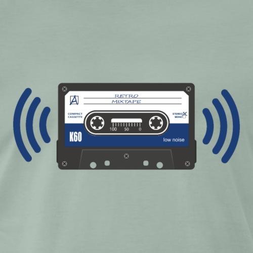 Stereo Audio Kassette - Retro Mixtape - Männer Premium T-Shirt