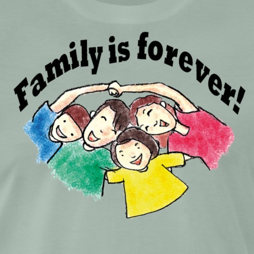 Familie for Ever - Männer Premium T-Shirt