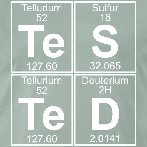 Te-S-Te-D (tested) (large) - Men's Premium T-Shirt