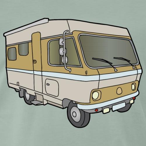 Camper (casa mobile) c - Maglietta Premium da uomo