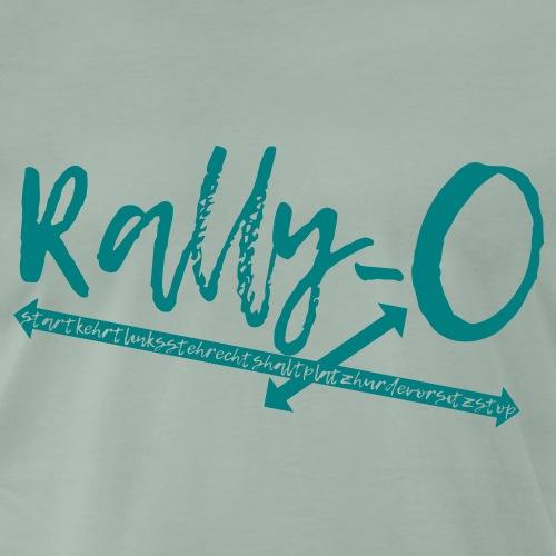 Rally Obedience Rally-O - Geschenkidee Hundesport - Männer Premium T-Shirt
