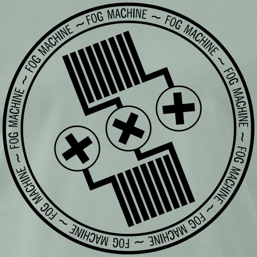 Fog Machine by Vaper Suit - Koszulka męska Premium