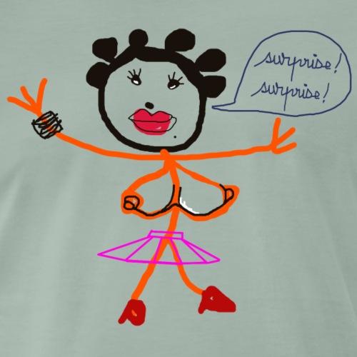 marguerite et sa surprise - T-shirt Premium Homme