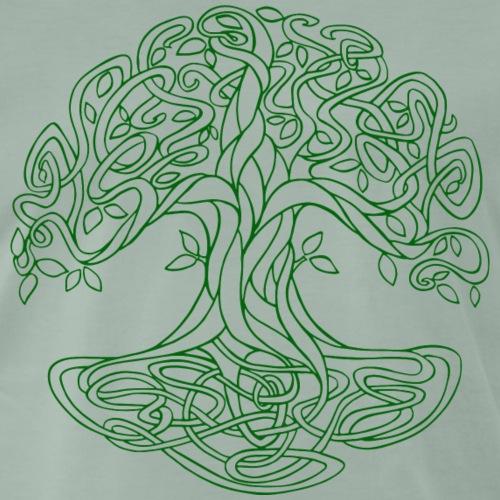 Yggdrasil der keltische Weltenbaum grün