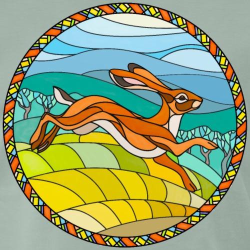 Hare In Glass - Men's Premium T-Shirt