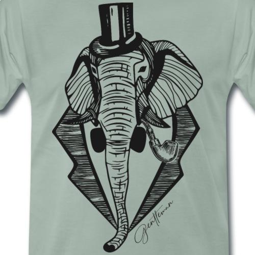 Mr. Elefant - Männer Premium T-Shirt