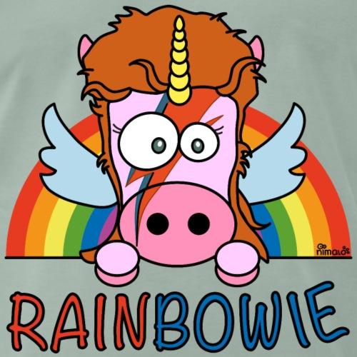 Licorne RainBow Bowie - T-shirt Premium Homme