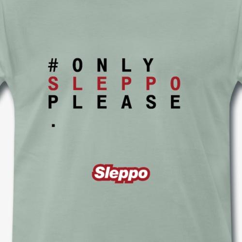 1^ COLLEZIONE - Only Sleppo Please - Maglietta Premium da uomo