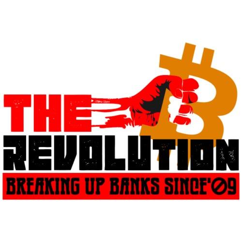 Die Bitcoin Revolution - BTC Revolution - Männer Premium T-Shirt
