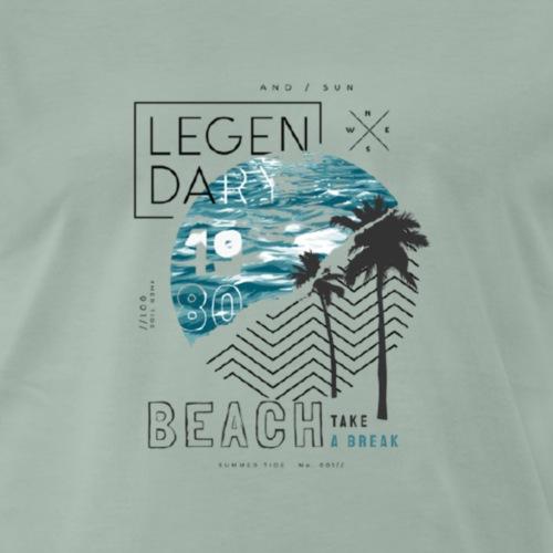 Beach Take a break - Männer Premium T-Shirt