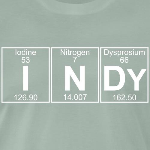 I-N-Dy (indy) - Full - Men's Premium T-Shirt