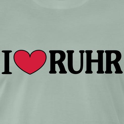 I love Ruhr - Männer Premium T-Shirt
