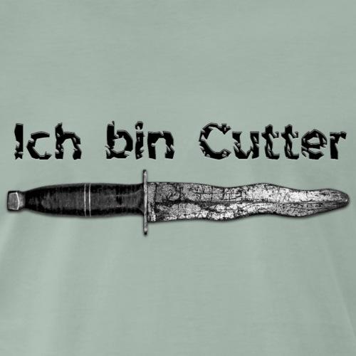 Ich bin Cutter - Männer Premium T-Shirt