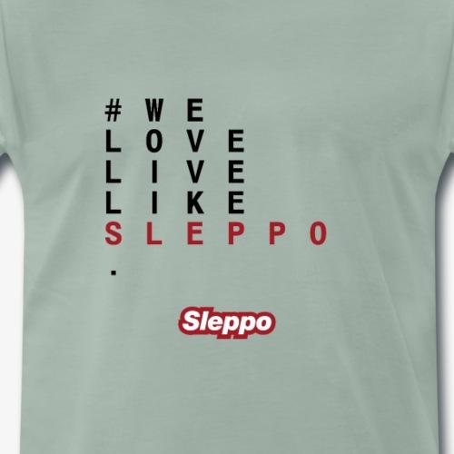 1^ COLLEZIONE - We Love Sleppo - Maglietta Premium da uomo