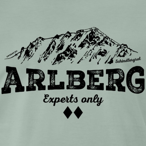 Schindlergrat Arlberg Shop - Men's Premium T-Shirt