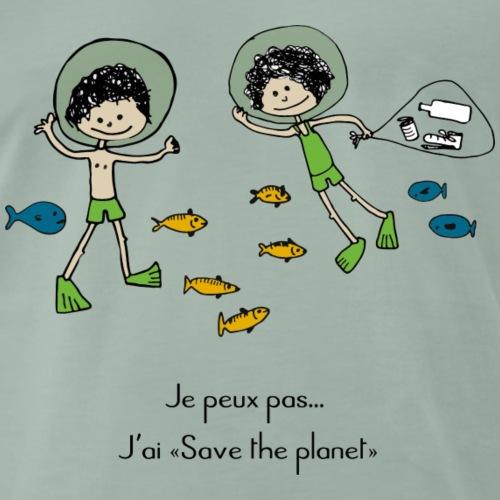 petit plongeur - T-shirt Premium Homme