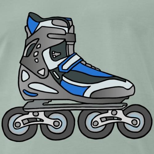 Inlineskater Rollerblades - Männer Premium T-Shirt